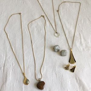 Jewelry - Vintage Necklace Lot Earring Lot